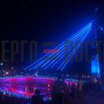 Реконструкция пешеходного моста через реку Харьков по Нетеченской набережной.