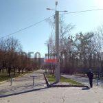 Реконструкция наружного освещения по улице Свободы г. Харьков
