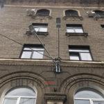 Монтаж наружного освещения по улице Свободы д. 4 и д. 6