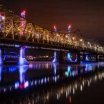 """Декоративная подсветка мостов """"под ключ"""" в Украине"""
